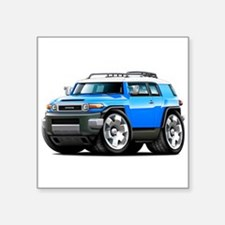 FJ Cruiser Blue Car Sticker