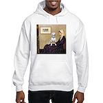 Mom's Bull Terrier (#1) Hooded Sweatshirt
