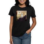 Mom's Bull Terrier (#1) Women's Dark T-Shirt