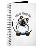 Seal point himalayan cat Journals & Spiral Notebooks