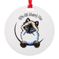 Ragdoll Ragamuffin IAAM Ornament
