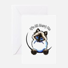 Ragdoll Ragamuffin IAAM Greeting Card