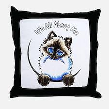 Ragdoll Ragamuffin IAAM Throw Pillow