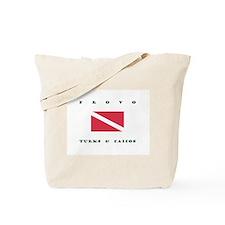 Provo Turks and Caicos Dive Tote Bag