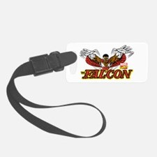 Vintage Falcon Luggage Tag