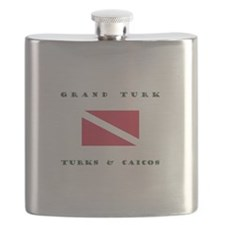 Grand Turk and Caicos Dive Flask