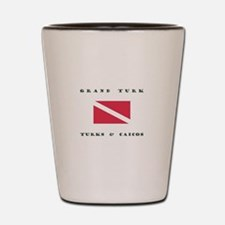 Grand Turk and Caicos Dive Shot Glass