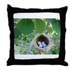 Bird's Nest Throw Pillow
