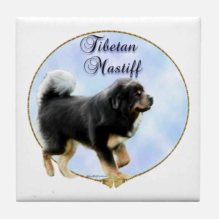 Tibetan Portrait Tile Coaster