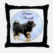 Tibetan Portrait Throw Pillow