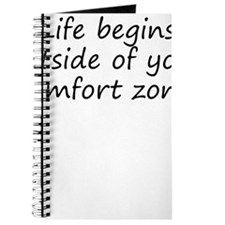 Outside Of Your Comfort Zone Journal