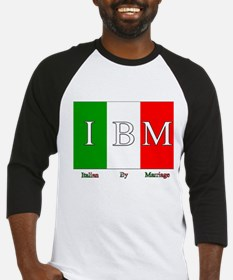 Italian By Marriage Baseball Jersey