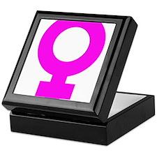 FEMALE PINK Keepsake Box
