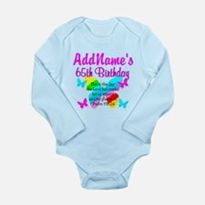 REJOICING 65TH Long Sleeve Infant Bodysuit