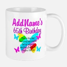 REJOICING 65TH Mug
