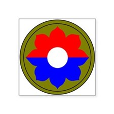 9th Infantry Division Rectangle Sticker