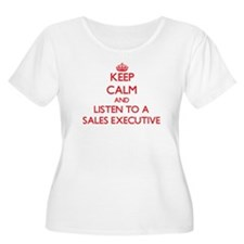 Keep Calm and Listen to a Sales Executive Plus Siz