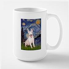 Starry/Bull Terrier (#4) Large Mug