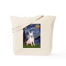 Starry/Bull Terrier (#4) Tote Bag