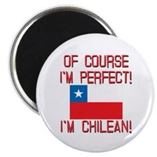 "Of Course Im Perfect Im Ch 2.25"" Magnet (100 pack)"