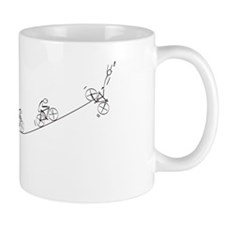 Over the Hill Cyclist Mug