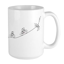 Over the Hill Cyclist Mugs