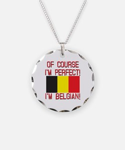 Of Course I'm Perfect, I'm B Necklace