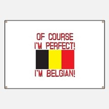 Of Course I'm Perfect, I'm Belgian Banner