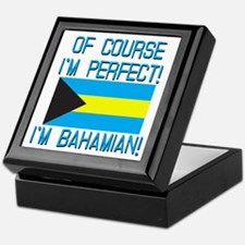 Of Course Im Perfect Im Bahamian Keepsake Box