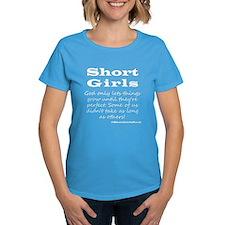Short Girls (all White) Dark T-Shirt