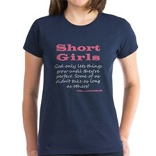 Short Girls (pink) Dark T-Shirt