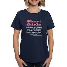 Short Girls (pink) Dark T-Shirt