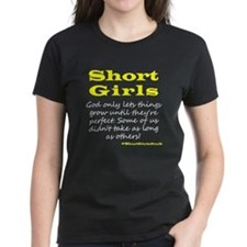 Short Girls (yelllow) Dark T-Shirt