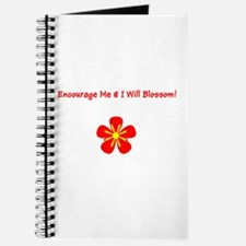 Autism Encourage Me & I Will Blossom! Journal