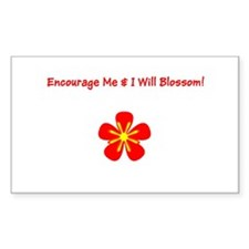 Autism Encourage Me I Will Blossom! Decal