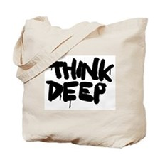 Think Deep Tote Bag