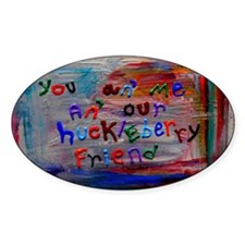 our huckleberry friend Decal