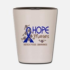 Histiocytosis Hope Matters 3 Shot Glass