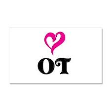 OT LOVE Car Magnet 20 x 12