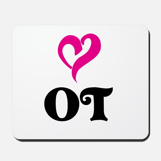 OT LOVE Mousepad