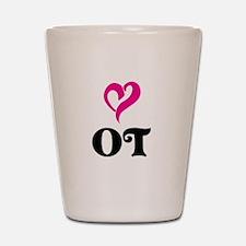 OT LOVE Shot Glass