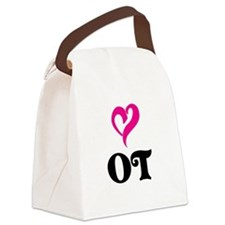 OT LOVE Canvas Lunch Bag