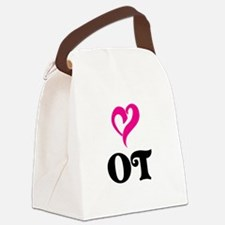 OT LOVE Canvas Lunch Bag