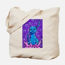 Buddha Kitty Tote Bag