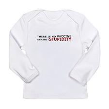 Vaccine Stupidity Long Sleeve T-Shirt