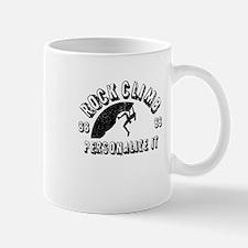 Personalized Rock Climb - Female Mug