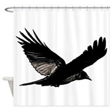 Bird Flying Bathroom Shower Curtain