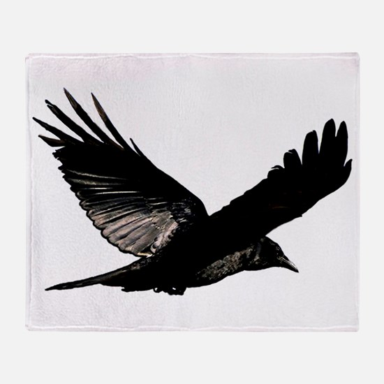 Bird Flying Throw Blanket