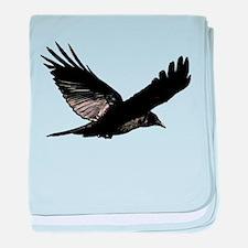 Bird Flying baby blanket