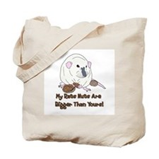 Russian Blue Siamese Nuts Tote Bag